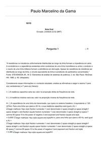 AOL3 SISTEMAS ELÉTRICOS