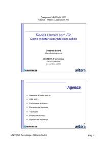 WiFi - Como Montar sua Rede - Gilberto Sudré 2