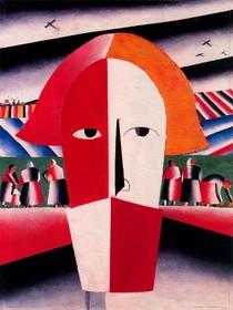 Cabeça de um camponês-Kasimir Malevich