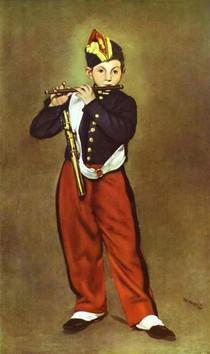 Edouard Manet - the_fifer