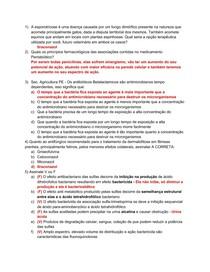 P1 - Farmaco (Compilado Provas Antigas)