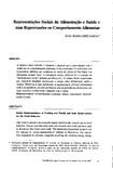 Representações Sociais da Alimentação e Saúde e suas repercussões no comportamento alimentar