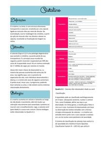 Cristalino- Oftalmologia