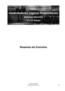 Controladores lógicos programáveis Respostas dos Exercicios
