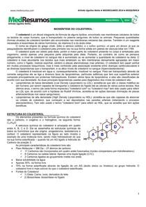 MEDRESUMOS 2014 - BIOQUÍMICA 15 - Biossíntese do colesterol