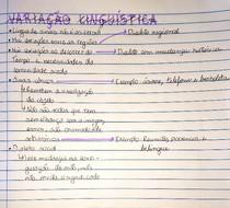 Variação linguística em Libras