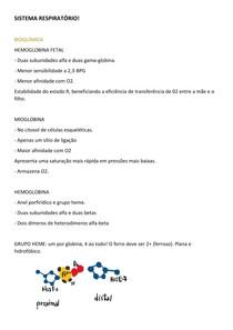 Bioquímica-Histologia-Fisiologia e respiratória