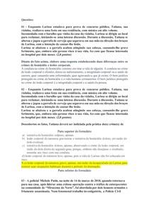 AV1 DIREITO PENAL 3 Crimes em Espécies 2020 2