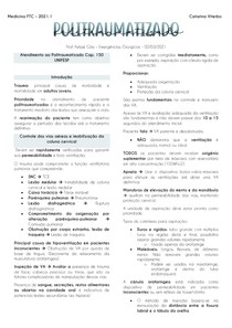 Politrauma - Unifesp Cap 150