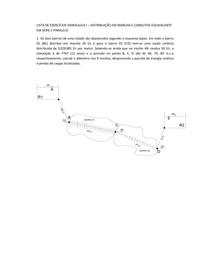 LISTA DE EXERCÍCIOS HIDRÁULICA I - Distribída_ Série e Paralelo