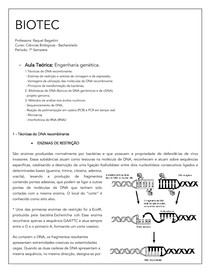 Biotecnologia_DNA recombinante