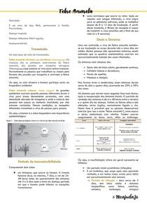 Resumo sobre Febre Amarela - com links de referência -