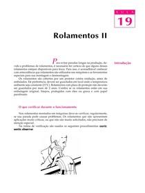 DESENHO MECANICO CAP 19 Rolamentos PARTE 2