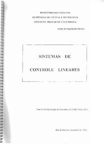 Apostila IME Servomecanismos - Parte 1 - Sistemas de Controle Lineares