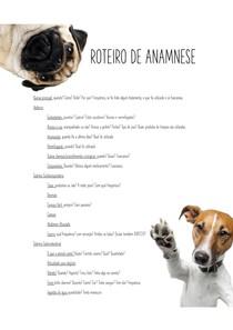 ROTEIRO DE ANAMNESE