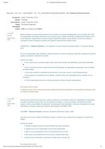 AV1 - Planejamento de Recursos Humanos