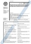 NBR 12217 - 1994 - NB 593 - Projeto de reservatorio de distribuicao de agua para abastecimento pu