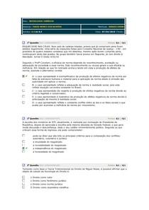 AVALIANDO SOCIOLOGIA JURIDICA GABARITO 02