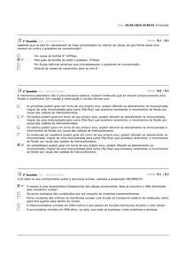 BQ Biologia Celular - AV1