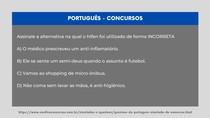 Português - Uso do hífen