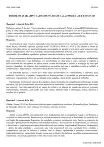 TRABALHO EDUCAÇÃO SOCIEDADE E CIDADANIA 4