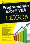 Programando Excel VBA Para Leigos   2ª Ed 2013