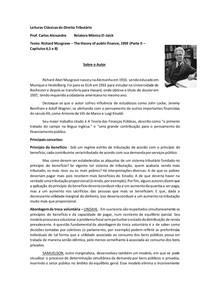 Richard Abel Musgrave ANÁLISE DA OBRA