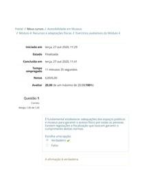 Exercícios avaliativos do Módulo 4