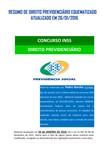 Resumo de Direito Previdenciário Eesquematizado -ATUALIZADO EM 26.01.2016