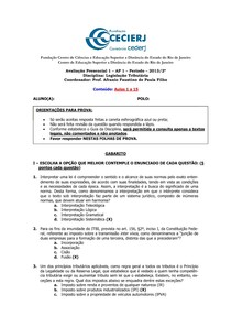 AP1 + GABARITO Leg. Tributária 2013.2