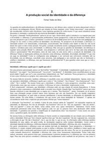 A Producao Social da Identidade e da Diferenca   Tomas Tadeu da Silva