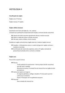 HISTOLOGIA II - Todo o semestre