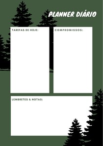Planner Diário