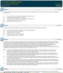 sistema e informações gerenciais simulado av1