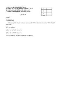 Prova Área 3 - Conceito A QGT