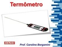 Termômetro e Temperatura