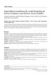 Equivalência semântica da versão brasileira da Social Avoidance and Distress Scale