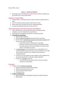 Resumo prova 2 PASS - Dilson - 4 PÉRIODO MED FAG