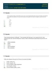 DIVERSAS QUESTÕES ESTRUTURAS DE DADOS (185 PÁGINAS)