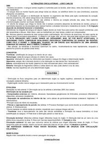 HISTOPATOLOGIA VETERINÁRIA: ALTERAÇÕES CIRCULATÓRIAS, CHOQUE, INTERRELAÇÃO HOSPEDEIRO-AGENTE AGRESSOR, INFLAMAÇÃO, INFLAMAÇÃO AGUDA E FENÔMENOS VASCULARES DA INFLAMAÇÃO AGUDA