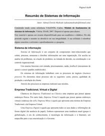 Infor 1   Sistemas de informação