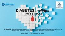 Aula: Diabetes Mellitus 1 e 2