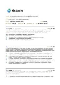 AV1, AV2 E AV3 INTRODUÇÃO A ADMINISTRAÇÃO 2014.2