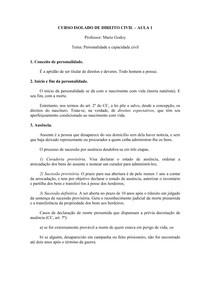 RESUMO GERAL DE DIREITO CIVIL   MARIO GODOY