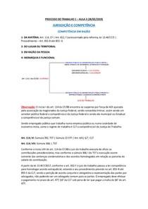 PROCESSO DO TRABALHO 1 - AULA 3