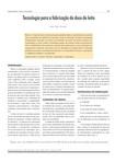 Artigo - tecnologia para a a fabricação de doce de leite