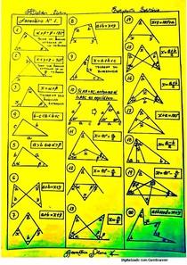 formulário de geometria