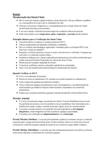 Resumo_ Monitoração dos Sinais Vitais