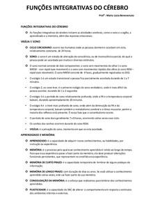 FUNÇÕES INTEGRATIVAS DO CÉREBRO 6