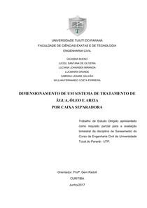 SEPARADORA AGUA OLEO